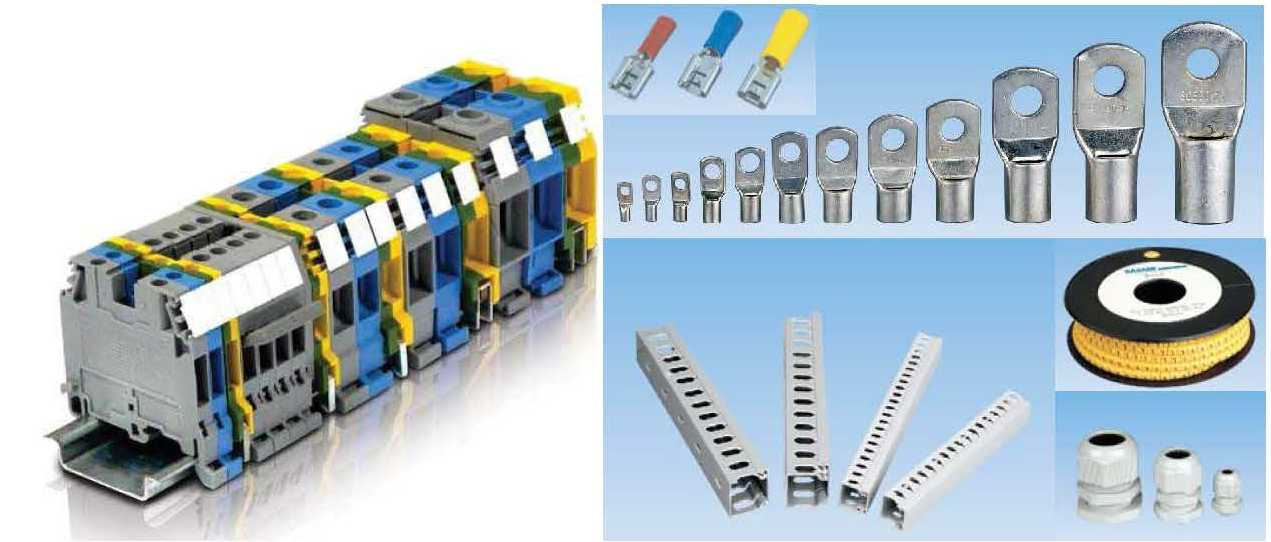 Accessories for Panel Building & Cabling