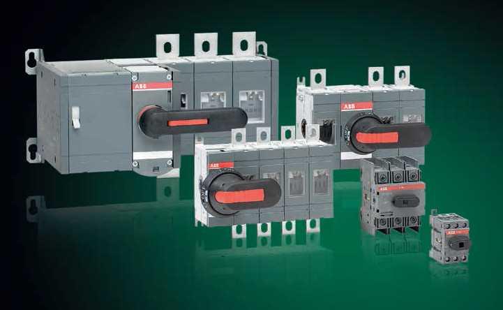 Switch Disconnectors OT