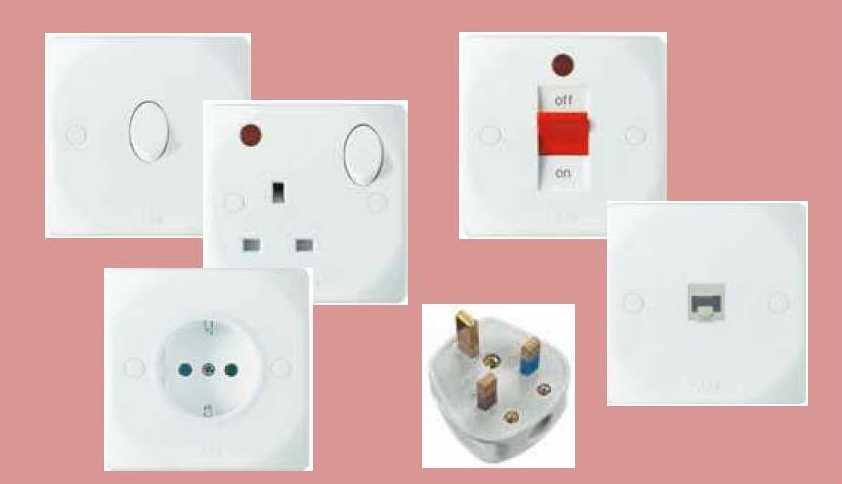 Domestic Switches, Plugs & Sockets