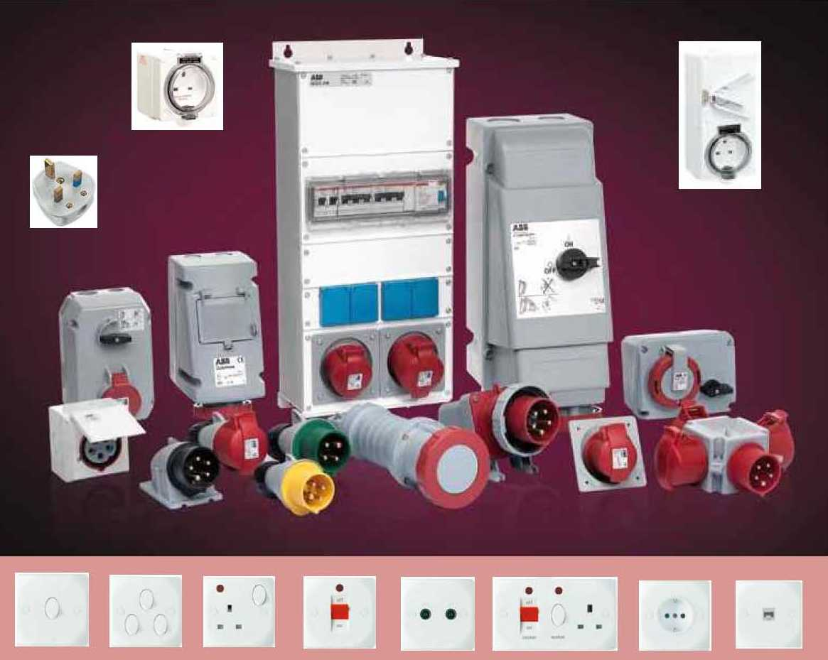 Industrial & Domestic Sockets, Plugs and Switches